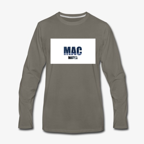WATER - Men's Premium Long Sleeve T-Shirt