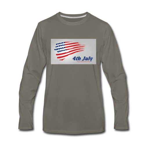 USA Independence Day 2 - Men's Premium Long Sleeve T-Shirt