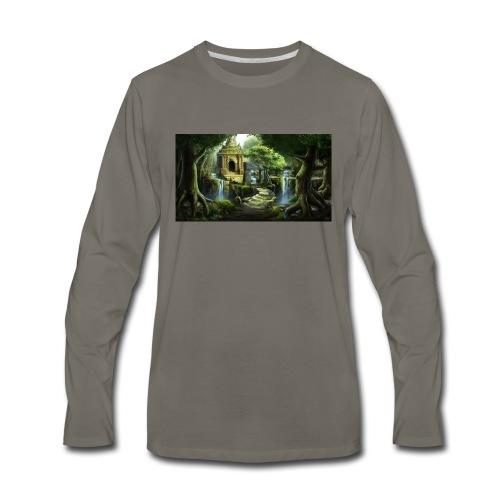 The Ancient Wild Lucian - Men's Premium Long Sleeve T-Shirt