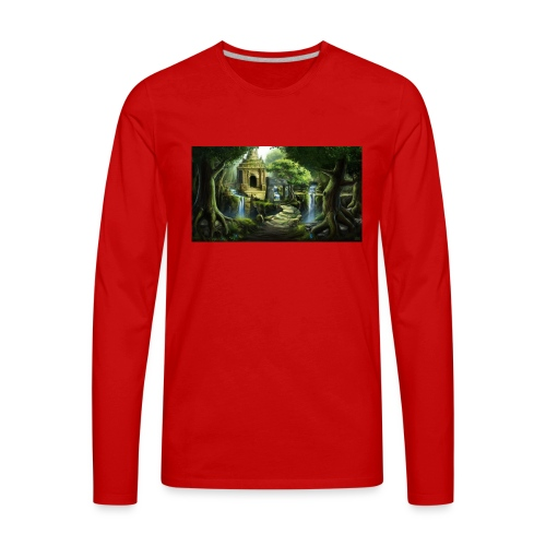 The Ancient Wild Lucian - Men's Premium Long Sleeve T-Shirt