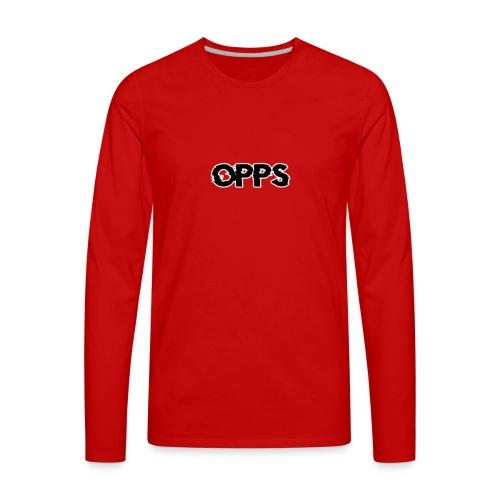 opps shirt merch 2 - Men's Premium Long Sleeve T-Shirt