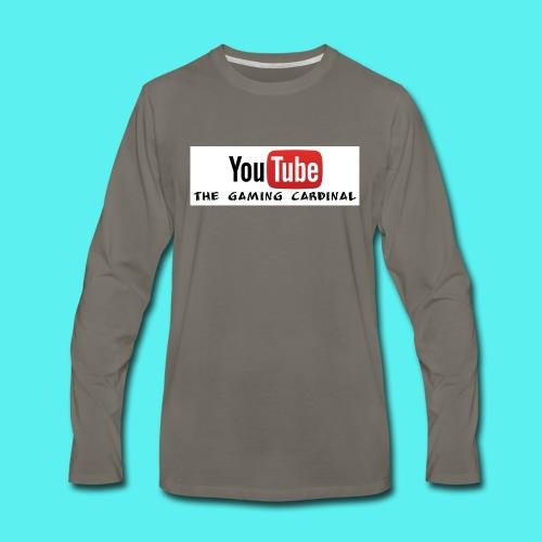 Youtube temp logo - Men's Premium Long Sleeve T-Shirt