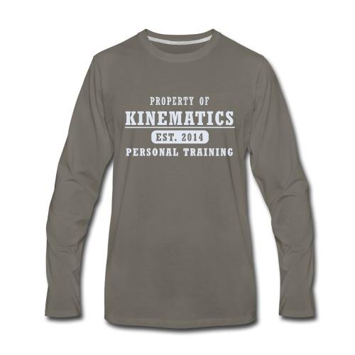 Property of shirt gray - Men's Premium Long Sleeve T-Shirt