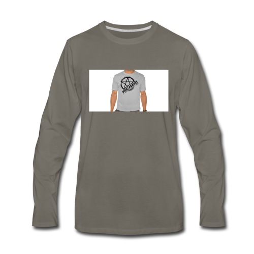 bmx_poleras - Men's Premium Long Sleeve T-Shirt