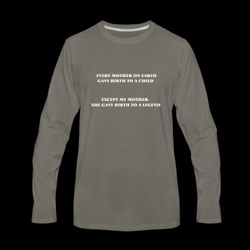 WORD SHIRTS - Men's Premium Long Sleeve T-Shirt