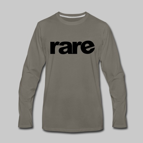 Quality Womens Tshirt 100% Cotton with Rare - Men's Premium Long Sleeve T-Shirt