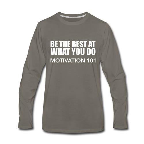 BEST-BLANC - Men's Premium Long Sleeve T-Shirt