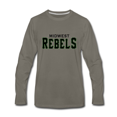 Midwest Rebels - Men's Premium Long Sleeve T-Shirt