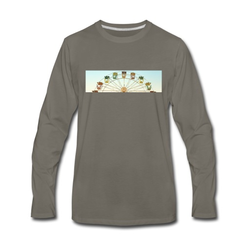 header_image_cream - Men's Premium Long Sleeve T-Shirt