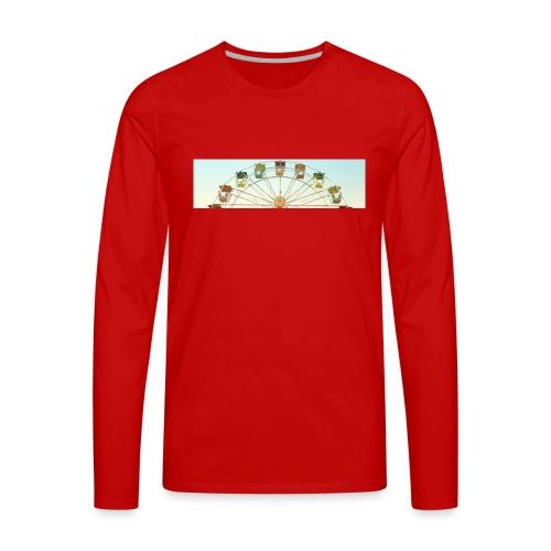 header_image_cream - Men's Premium Long Sleeve T-Shirt