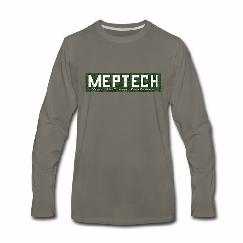 MepTech YTG Logo - Men's Premium Long Sleeve T-Shirt