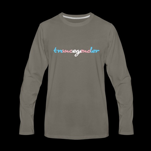 trancegender - Men's Premium Long Sleeve T-Shirt