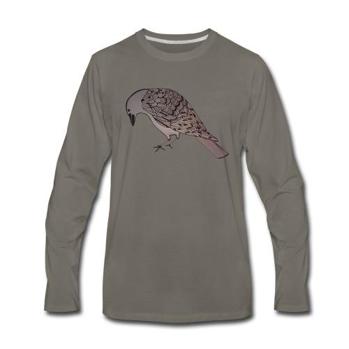 art deco raven - Men's Premium Long Sleeve T-Shirt