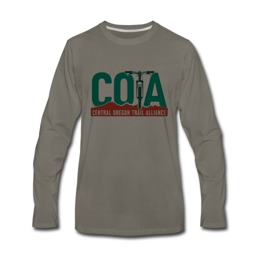2019 COTA main logo - Men's Premium Long Sleeve T-Shirt