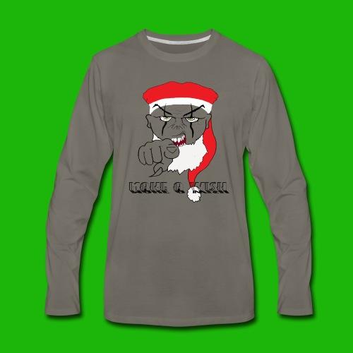 santa - Men's Premium Long Sleeve T-Shirt