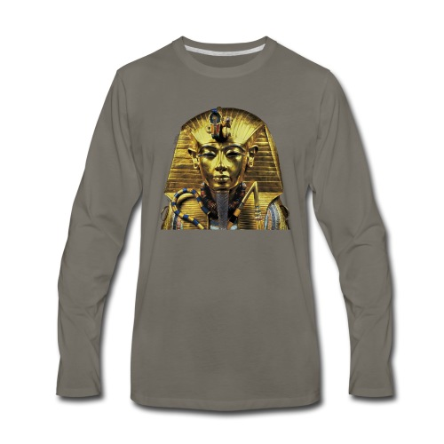 Tutankhamun Pharaoh of Egypt Products and T-shirts - Men's Premium Long Sleeve T-Shirt