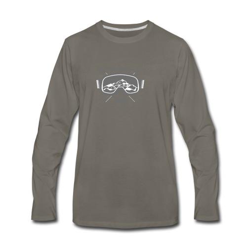 design-08 - Men's Premium Long Sleeve T-Shirt
