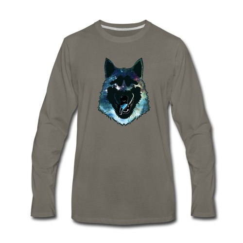 dogi - Men's Premium Long Sleeve T-Shirt
