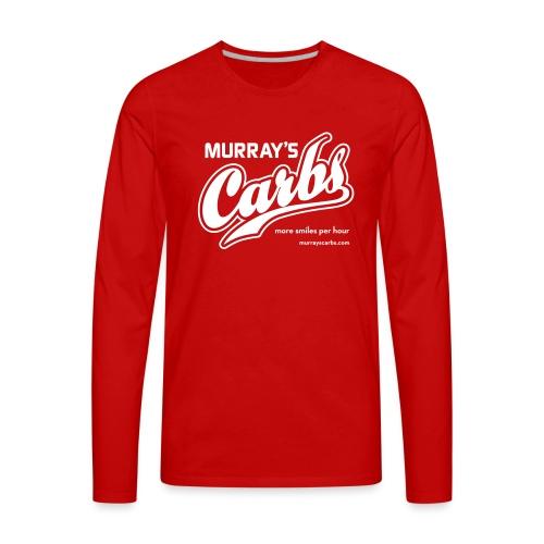 Murray's Carbs! - Men's Premium Long Sleeve T-Shirt