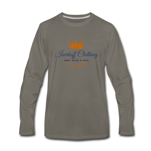 Iserhoff Clothing - Men's Premium Long Sleeve T-Shirt