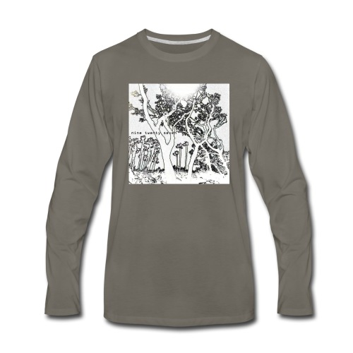 Nine Twenty Seven - Trees - Men's Premium Long Sleeve T-Shirt