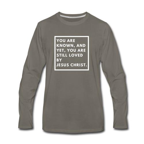 Still loved by Jesus Christ - Men's Premium Long Sleeve T-Shirt