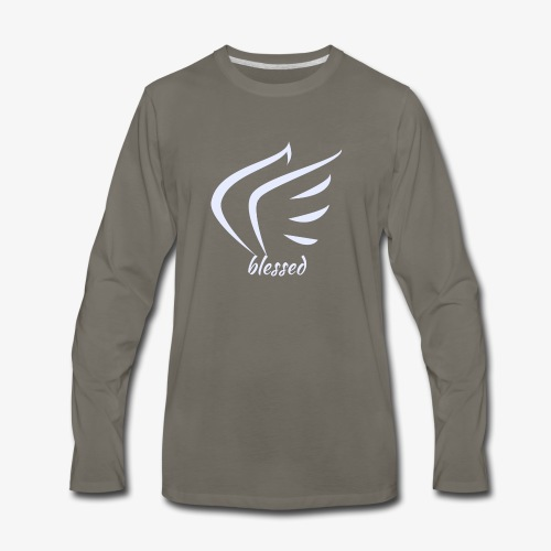 BlessedbyHC - Men's Premium Long Sleeve T-Shirt