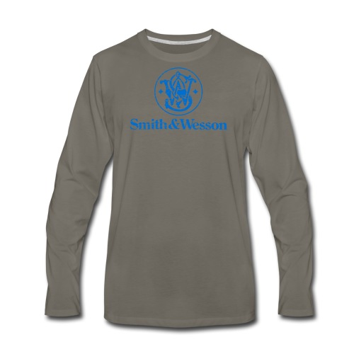 Smith & Wesson (S&W) - Men's Premium Long Sleeve T-Shirt