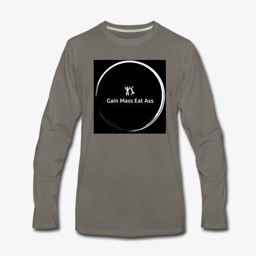 Gain mass - Men's Premium Long Sleeve T-Shirt