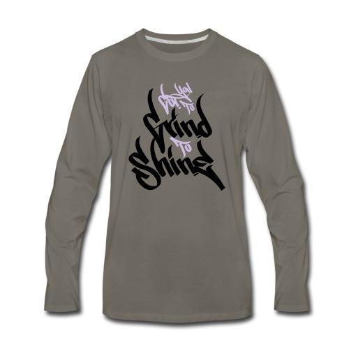 GTS - Men's Premium Long Sleeve T-Shirt