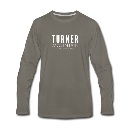 Turner Mountain - Men's Premium Long Sleeve T-Shirt