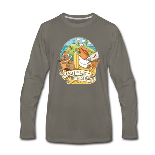SCBWI Australia West 2019 Rottnest Retreat - Men's Premium Long Sleeve T-Shirt