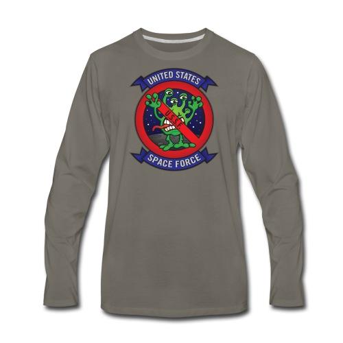 United States Space Force U.S.S.F. - Men's Premium Long Sleeve T-Shirt