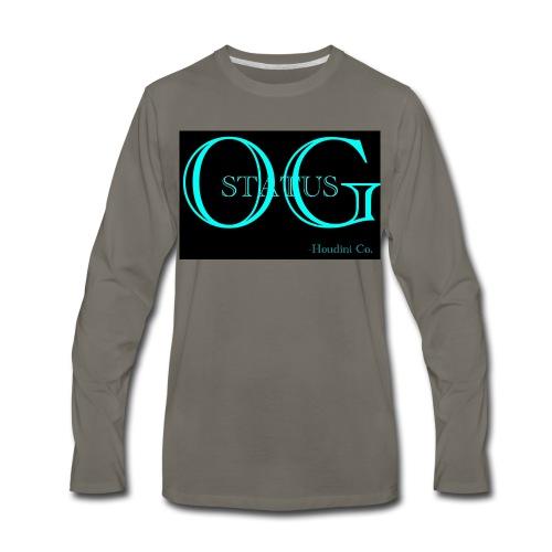 OG Status - Men's Premium Long Sleeve T-Shirt