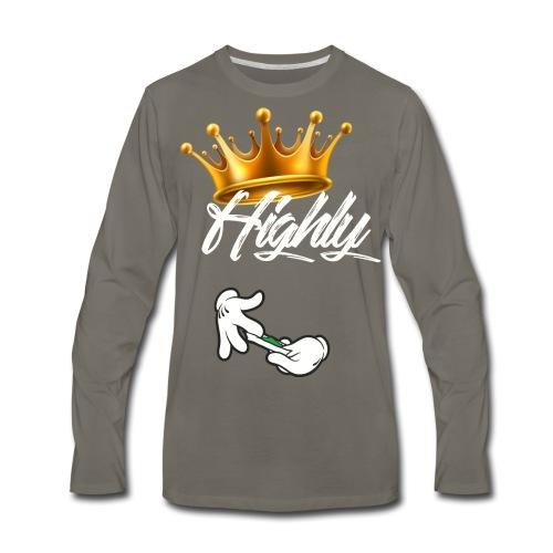Highly Print - Men's Premium Long Sleeve T-Shirt