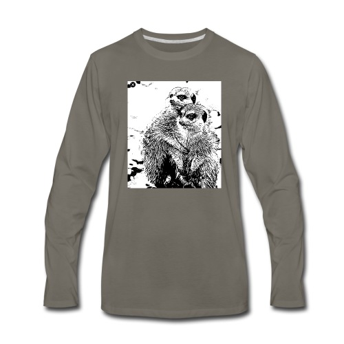 twomangosta - Men's Premium Long Sleeve T-Shirt