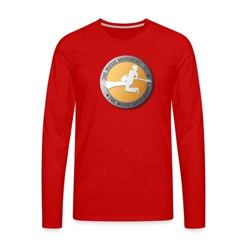 The Music Movement - Men's Premium Long Sleeve T-Shirt