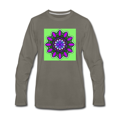flower of love - Men's Premium Long Sleeve T-Shirt