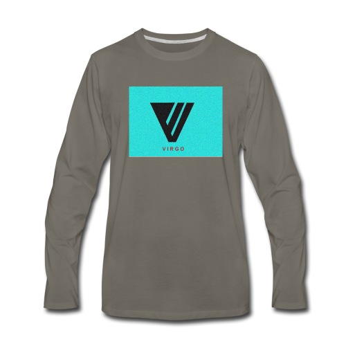 Virgo : Color - Men's Premium Long Sleeve T-Shirt