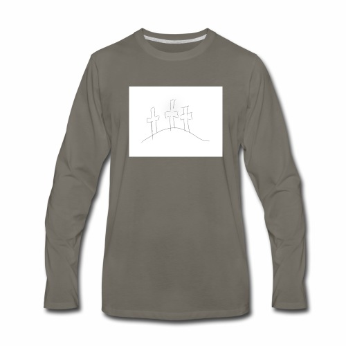 CALVARY - Men's Premium Long Sleeve T-Shirt