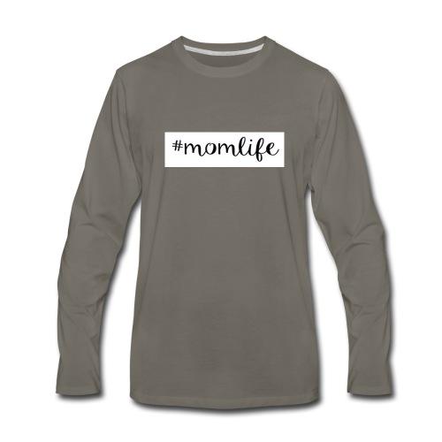 #momlife - Men's Premium Long Sleeve T-Shirt