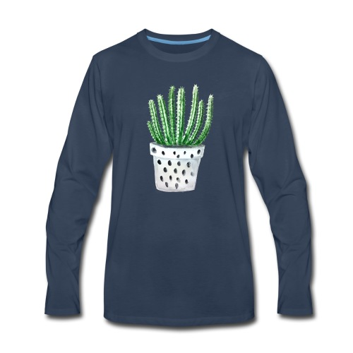 Cactus - Men's Premium Long Sleeve T-Shirt