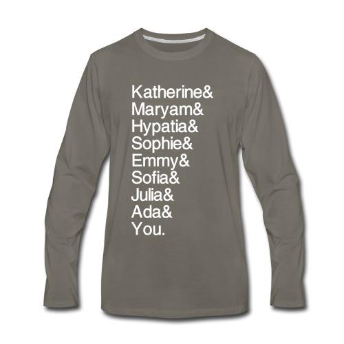 Women in Math (& You!) - Men's Premium Long Sleeve T-Shirt