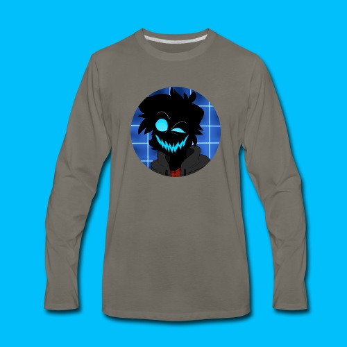 Maniacal Icon - Men's Premium Long Sleeve T-Shirt