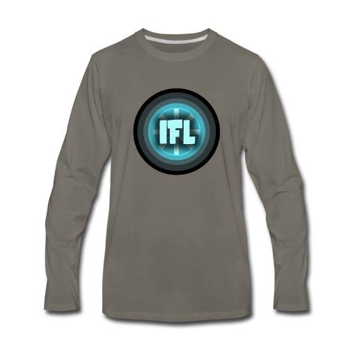 Logo Looper - Men's Premium Long Sleeve T-Shirt