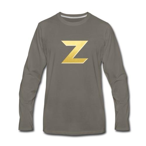 Zonary Alliance Gold logo Shirt - Men's Premium Long Sleeve T-Shirt