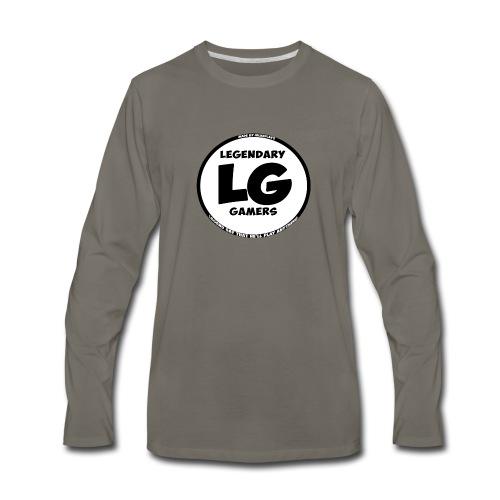 legendarygamers logo - Men's Premium Long Sleeve T-Shirt