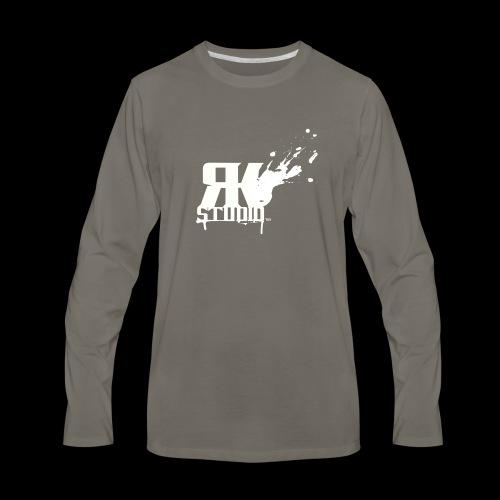 RKStudio White Logo Version - Men's Premium Long Sleeve T-Shirt