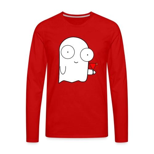 Shyly - Men's Premium Long Sleeve T-Shirt