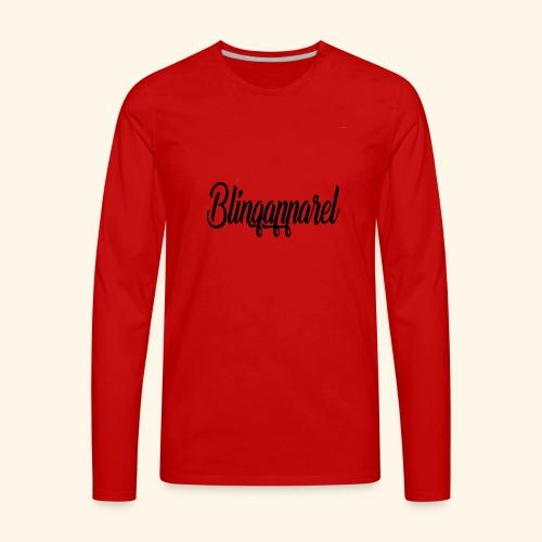 Designer brand Blinqapparel - Men's Premium Long Sleeve T-Shirt